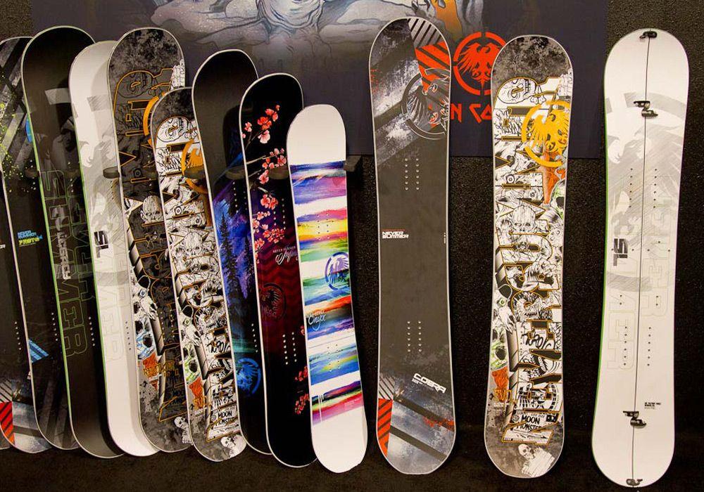Доски для сноубординга