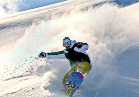 Фрирайд на сноуборде