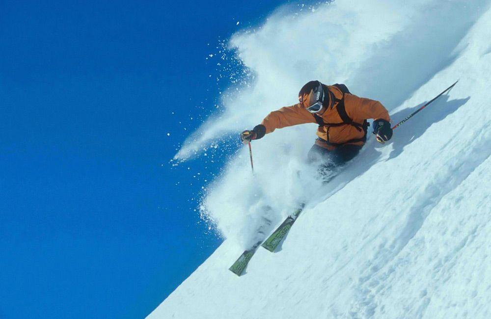 Торможение на лыжах