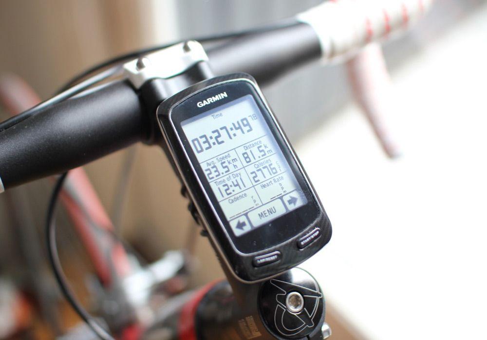 Экран велокомпьютера