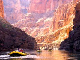 Рафтинг в каньоне