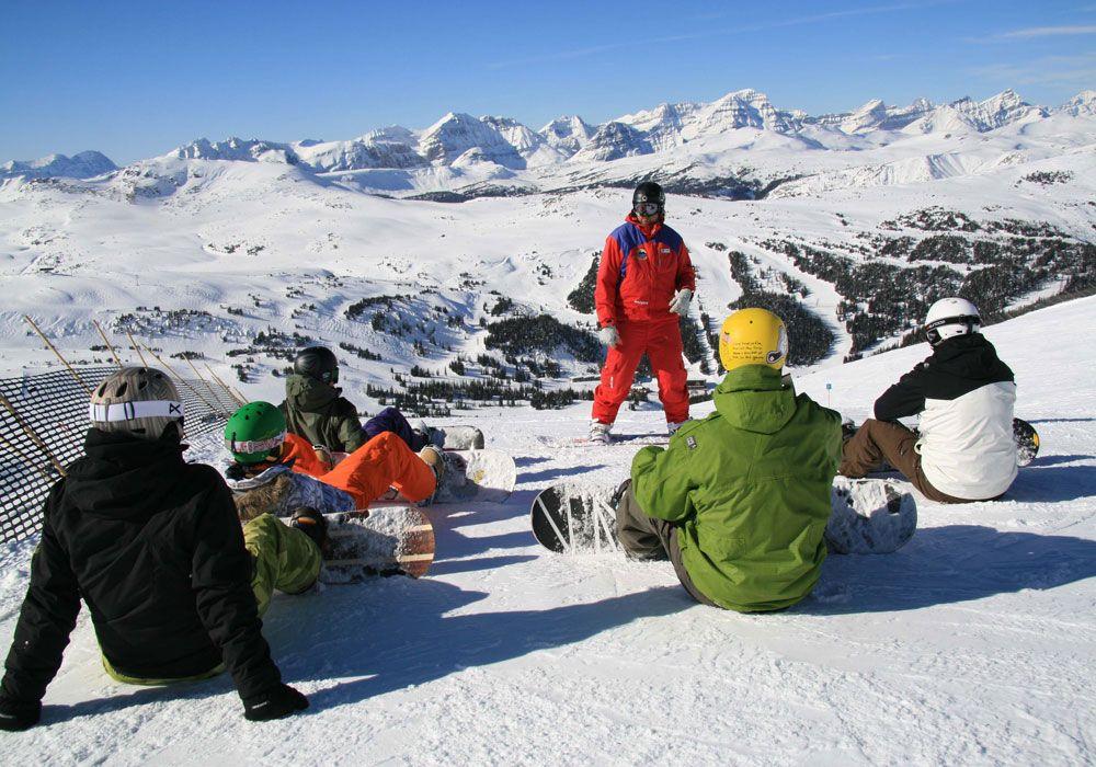 Обучение сноубордингу