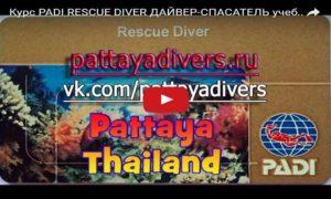 Курс PADI - Rescue diver