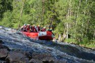 Рафтинг на реке Шуя