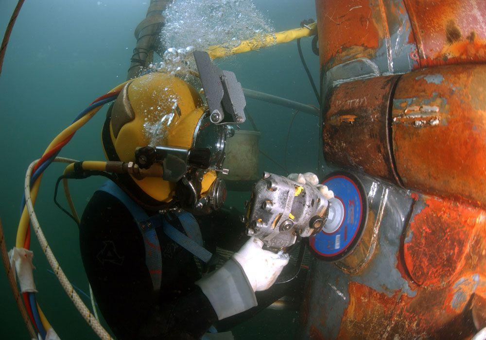 Ремонтные работы под водой