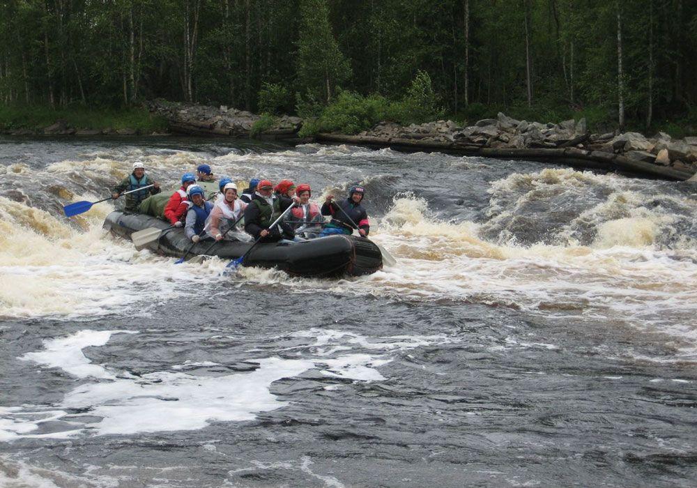 Сплав по реке Чирка-Кемь