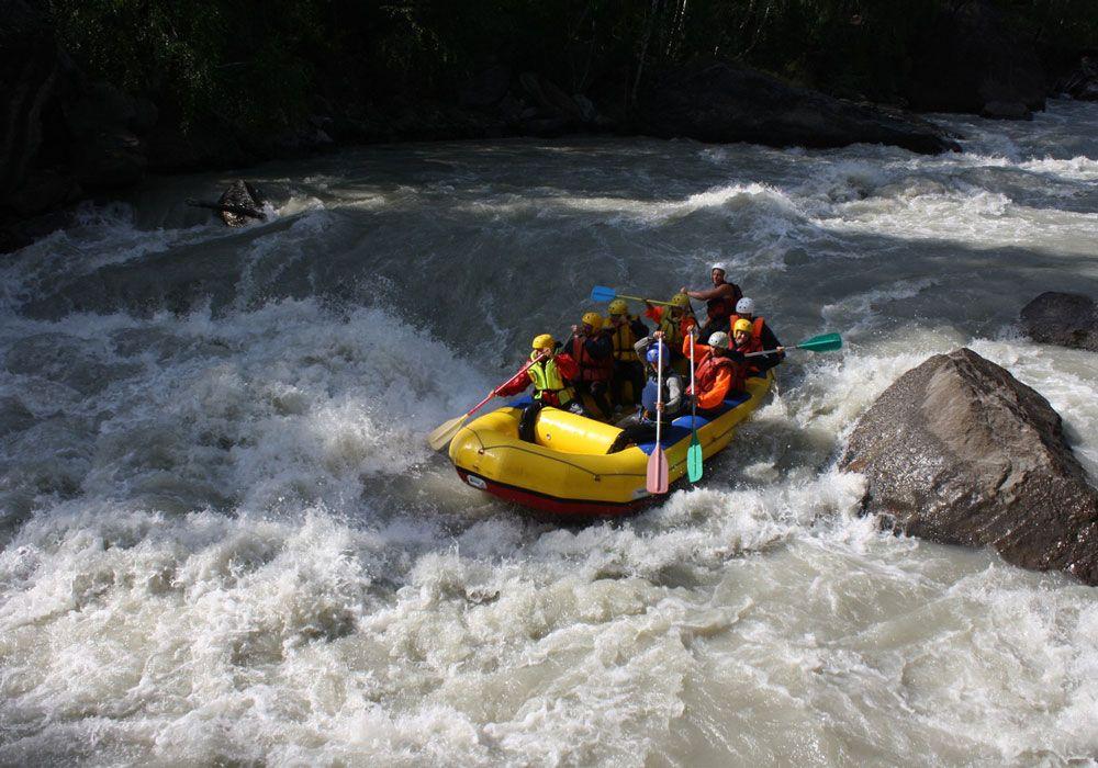 Рафтинг на реке Чуя