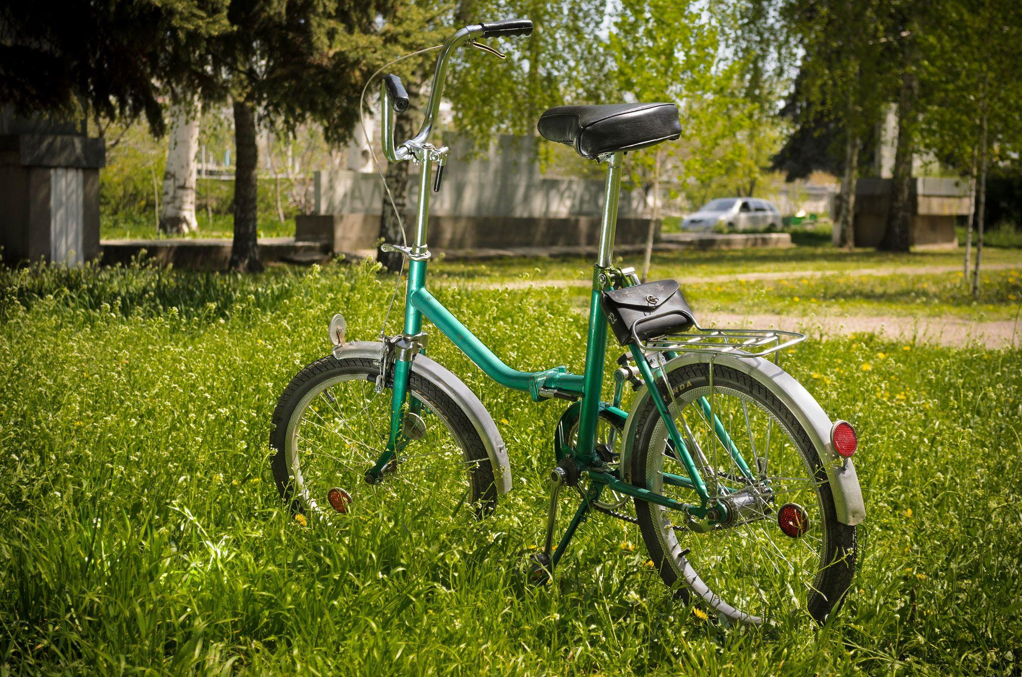Складной велосипед Аист