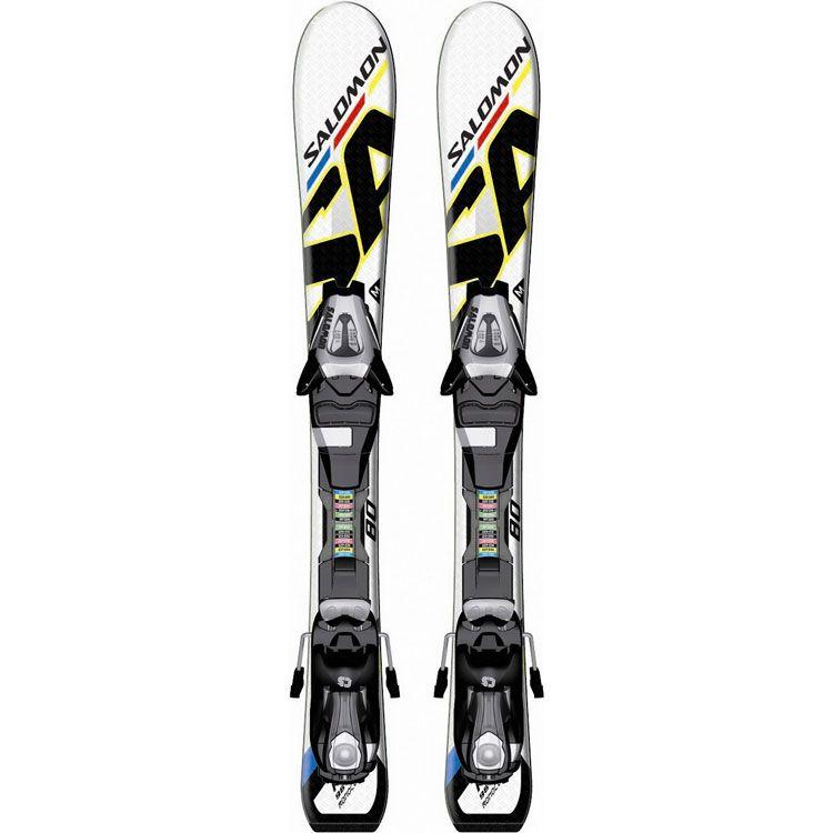 Детские горные лыжи с креплениями