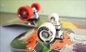 Колёса на скейтборде