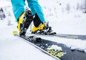 Крепления на лыжах