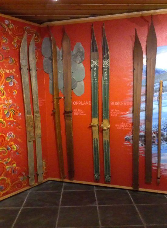 Лыжи Сондре Нордхейма