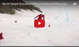World Speed Snowboard Record