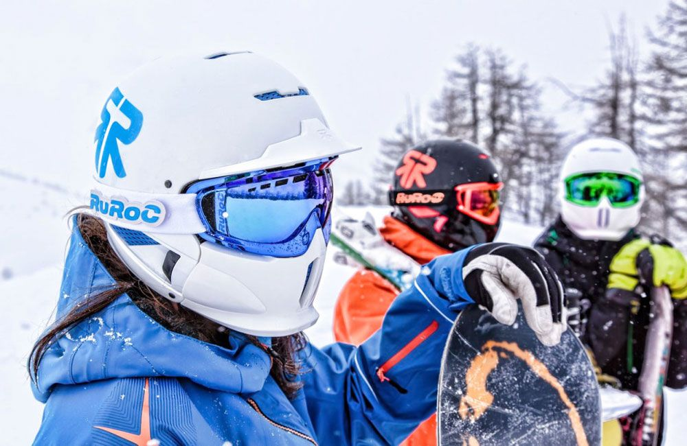 the importance of ski helmets as protection and its proper use