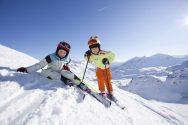 Дети на горнолыжном склоне