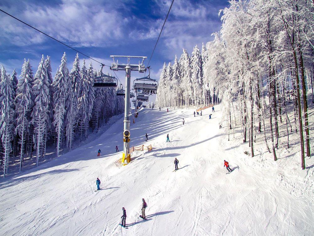 Катание на лыжах в Винтерберге