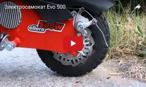 Электросамокат Evo 500