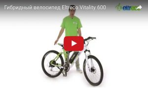 Гибридный велосипед Eltreco Vitality 600