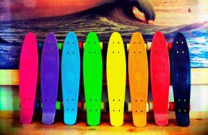 Цветные лонгборды