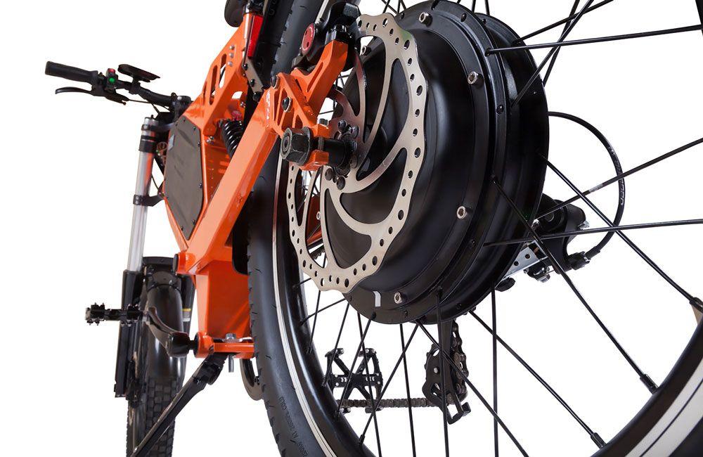 Механизм велогибрида