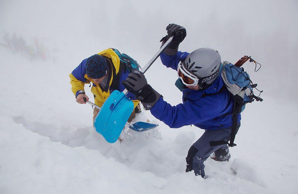 Копание снега