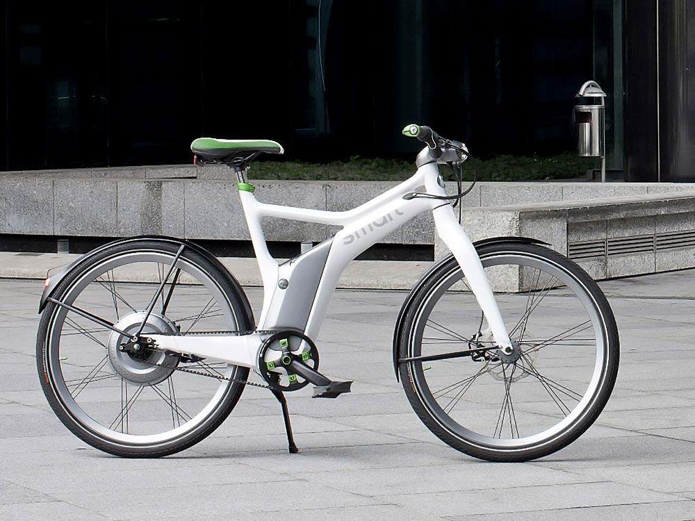 Велосипед с мотор-колесом