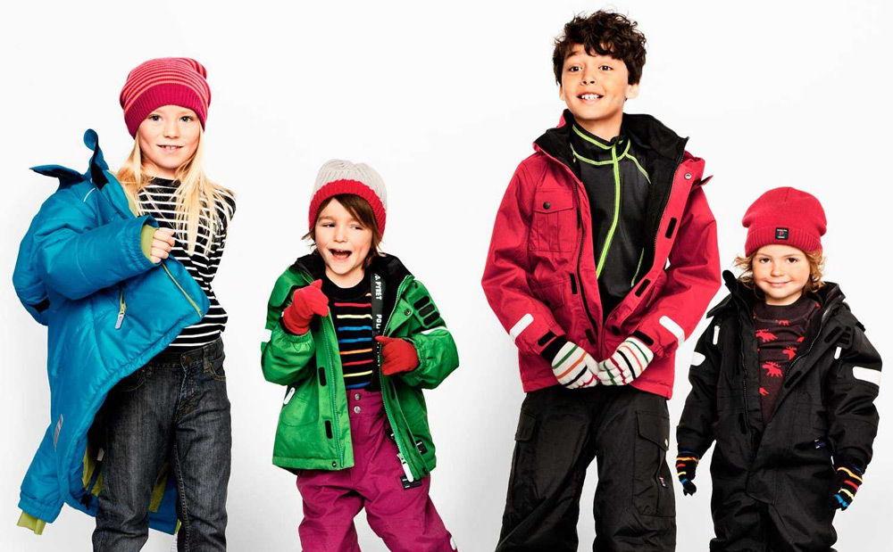 Дети в мембранной одежде
