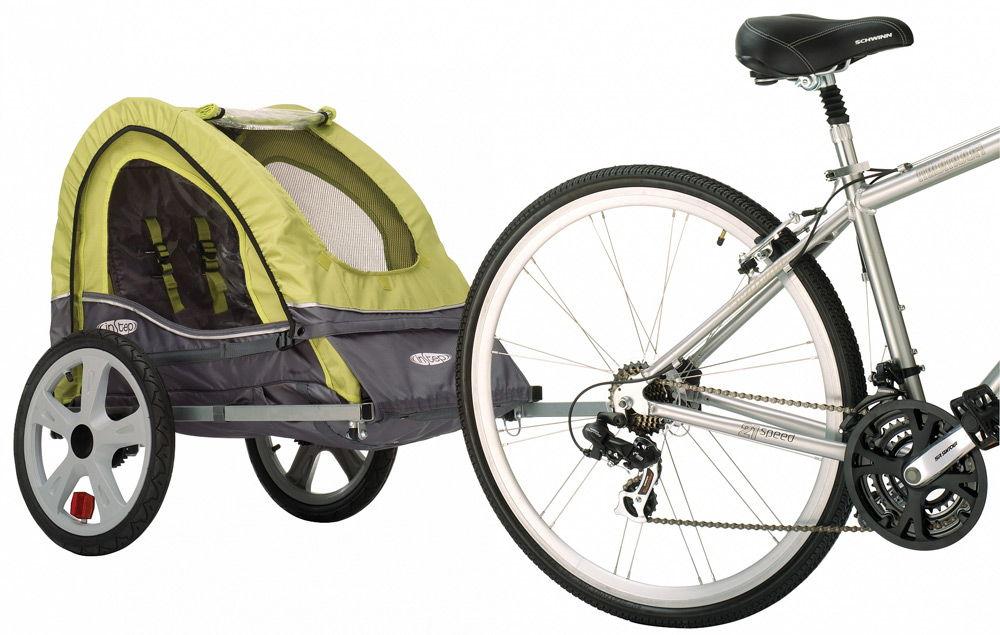 Прицеп на велосипеде для детей