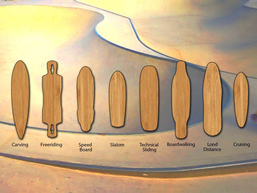 Разновидности лонгборда