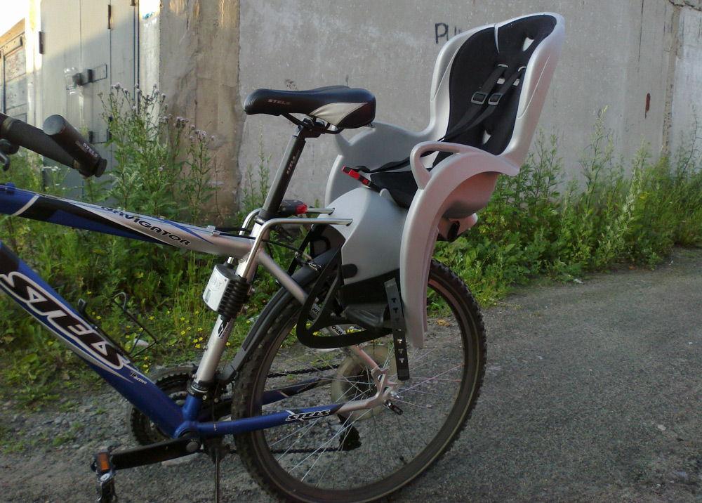 Велосипед с креслом для детей