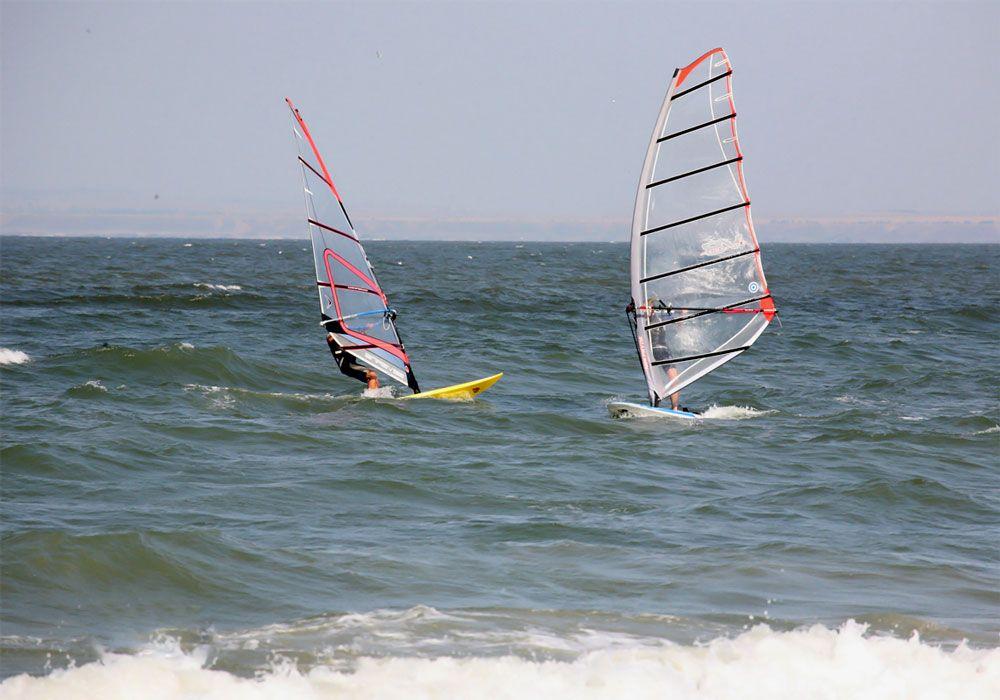 Виндсёрфинг на Азовском море