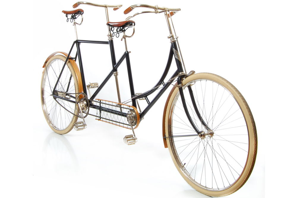 Велосипед-тандем 1896 года