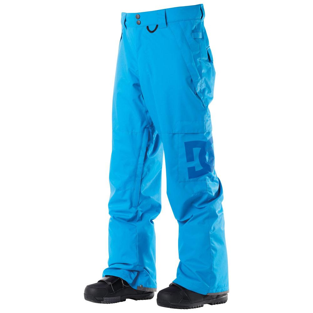 Сноубордические штаны DC голубые