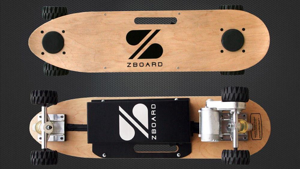 Два электрических скейта