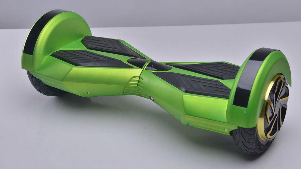Зеленый гироскутер