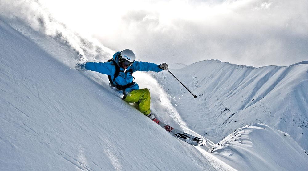 Freeride на горных лыжах
