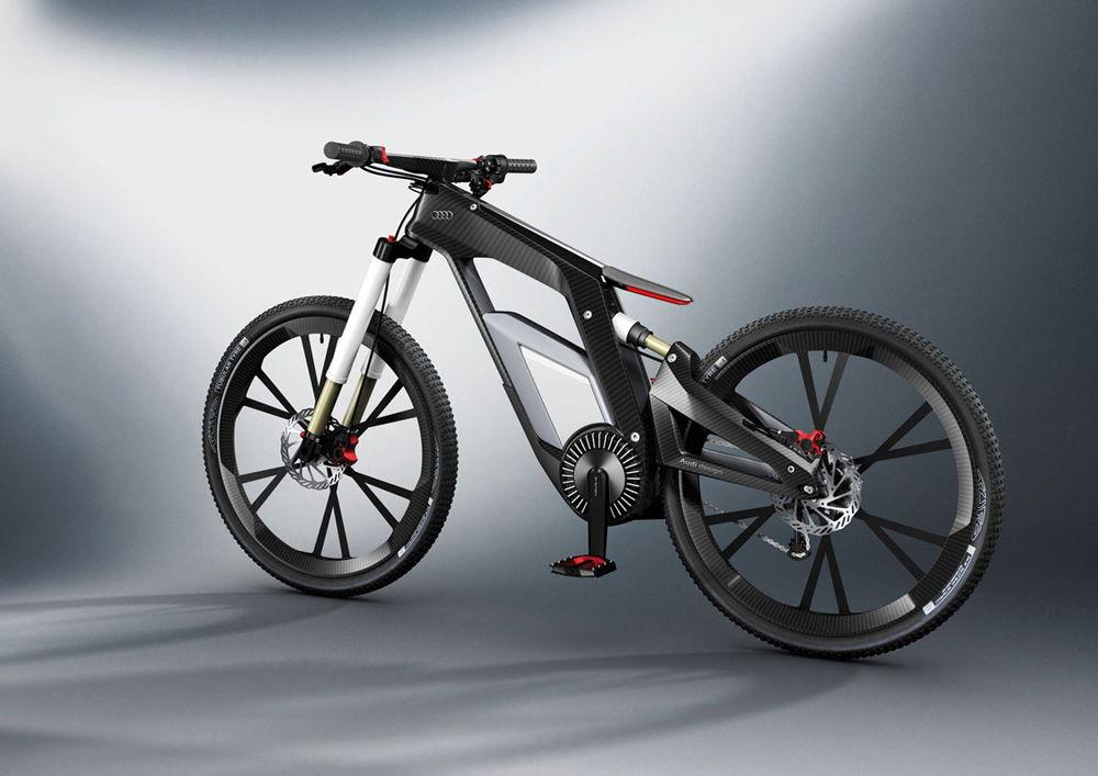 Карбоновый велосипед AUDI