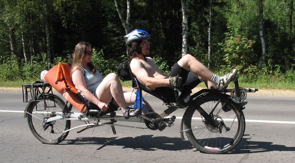 Езда на лигераде
