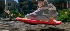 """Летающий скейтборд из фильма """"Назад в будущее"""""""