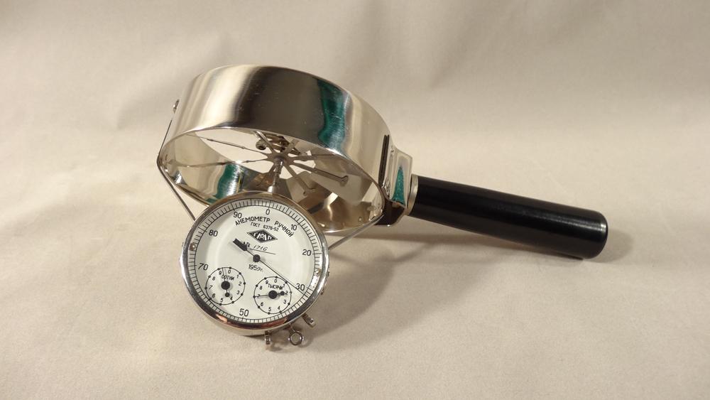 Ручной анемометр