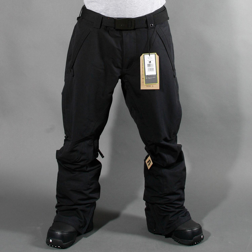 Сноубордические штаны черные