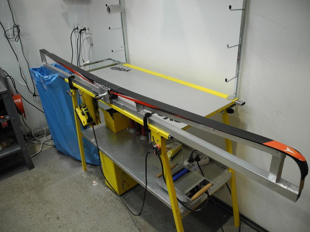 Станок для обработки лыж