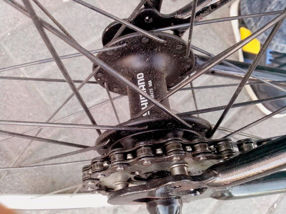 Ремонт детского велосипеда своими руками заднее колесо 10