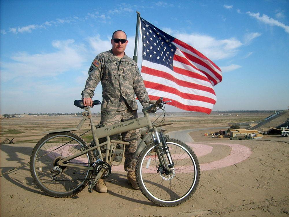 Военный велосипед Montague Paratrooper