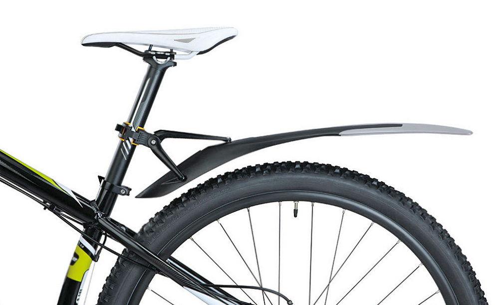 Монтаж крыла велосипеда