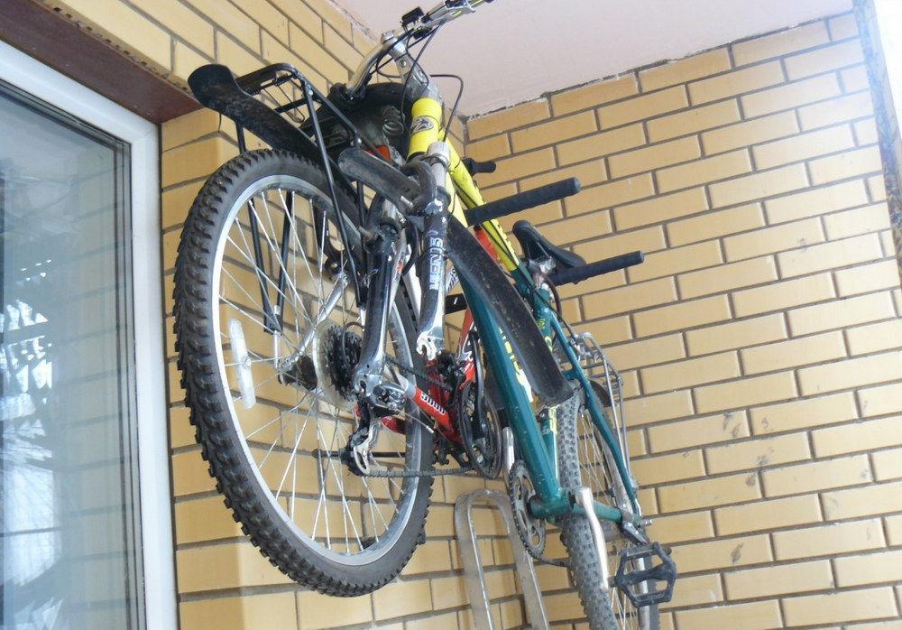 Настенное крепление для велосипеда своими руками