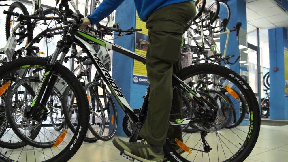 Регулировка сидения велосипеда методом почти прямая нога