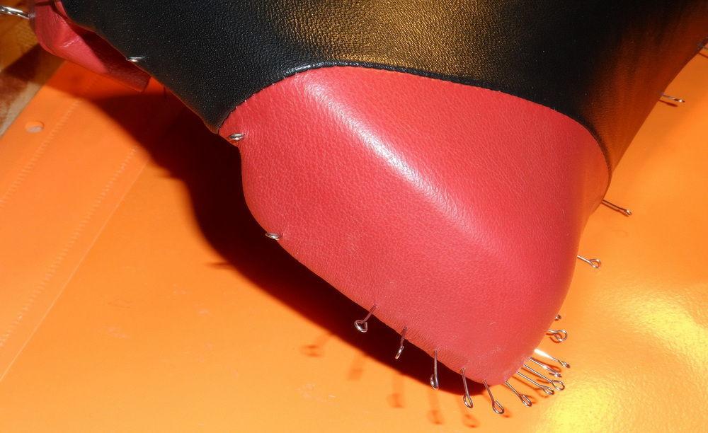 Сшивание велосипедного седла