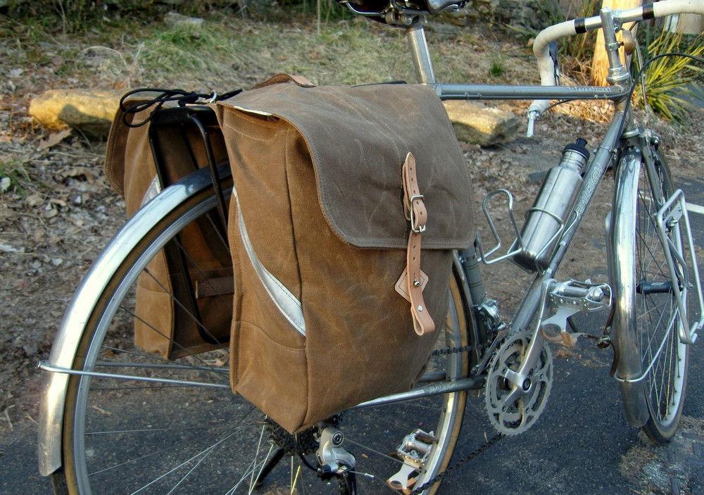 Велобагажник на основе дорожной сумки