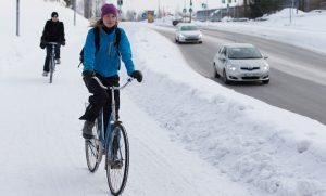 Зима для велосипедистов